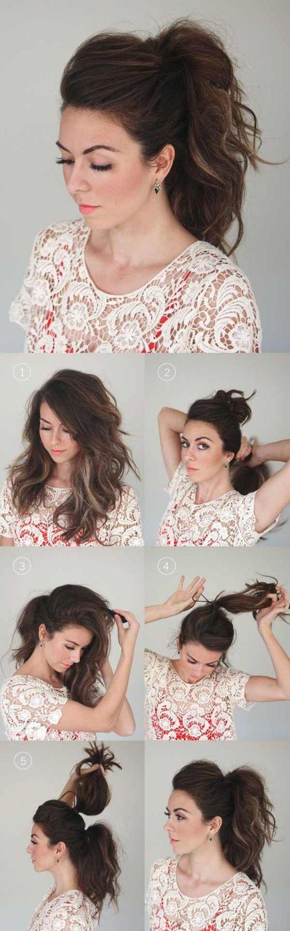 33 coiffures hyper faciles a faire en 3 min