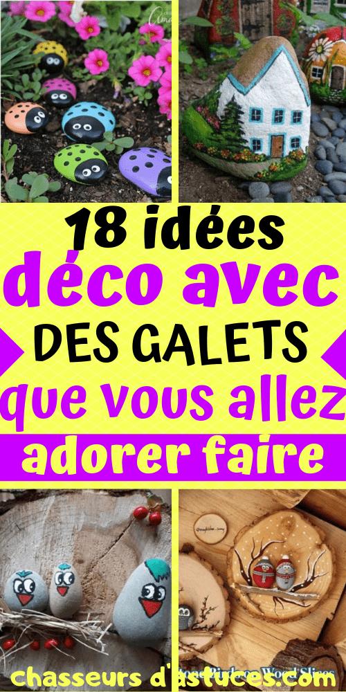 18 Idees Deco Avec Des Galets Que Vous Allez Adorer Faire