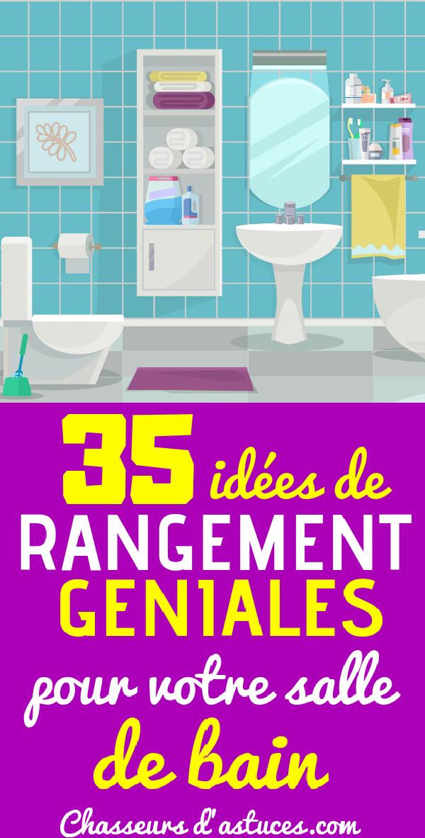 35 Idees Creatives Pour Organiser Sa Petite Salle De Bain