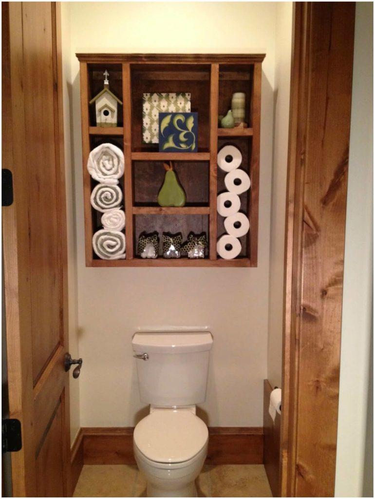 Tableau Pour Mettre Dans Les Toilettes 31 brillantes idÉes de rangement au-dessus des wc
